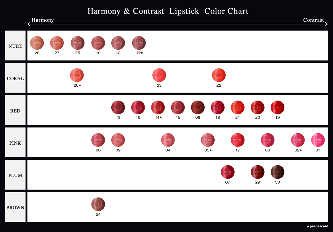 IMAGE:Color Chart